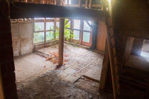 Einfamilienhaus in 37520 Osterode am Harz mit Anbau und Scheune - Scheune Innenansicht